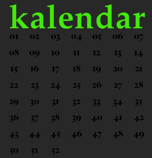 planet kalendar