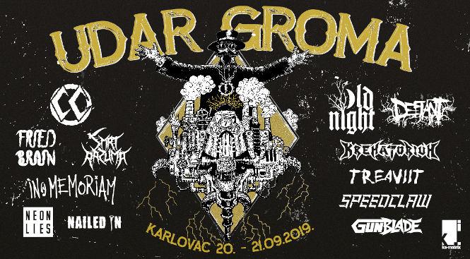 Udar Groma punk metal glazbeni festival
